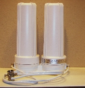 Countertop 2-canister Radiation Water Filter