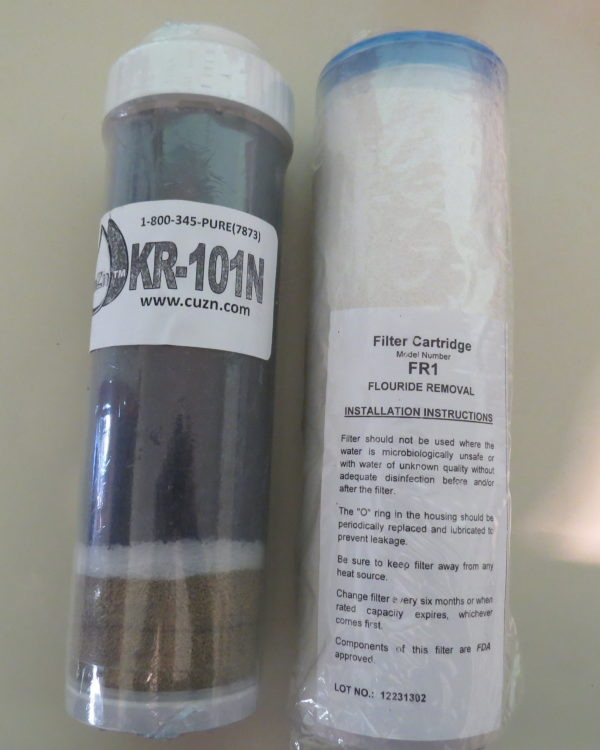 Chloramines Replacement Set