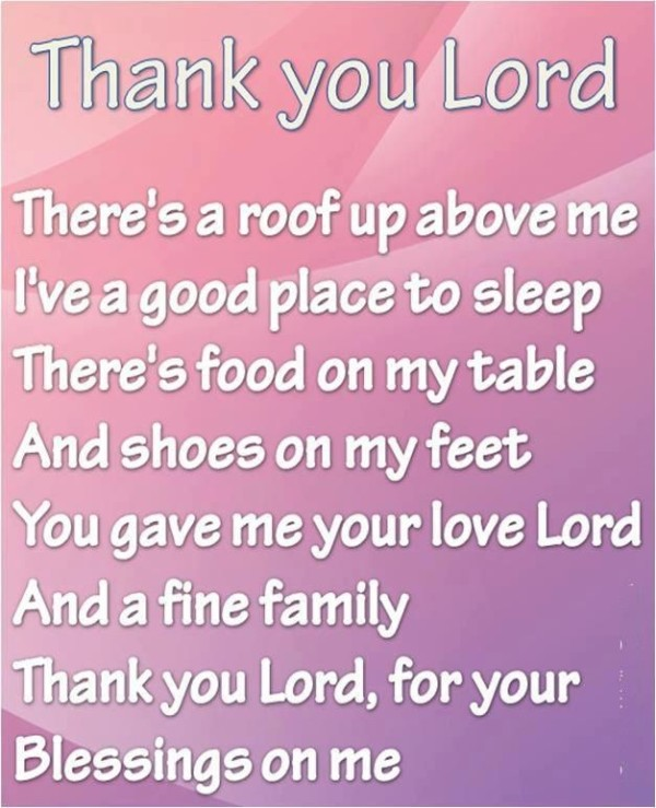Thank You Lord Quotes 6