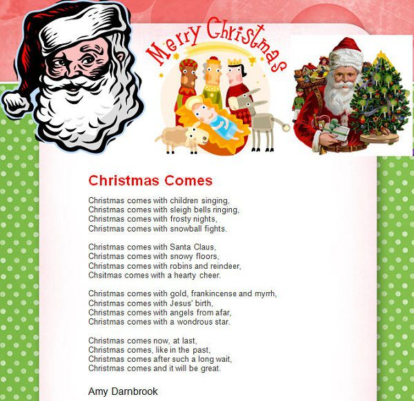Christmas Poems About Jesus 3