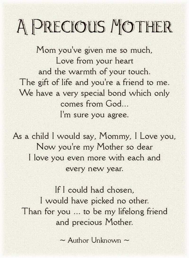 Mothers Day Poems Daughter 6