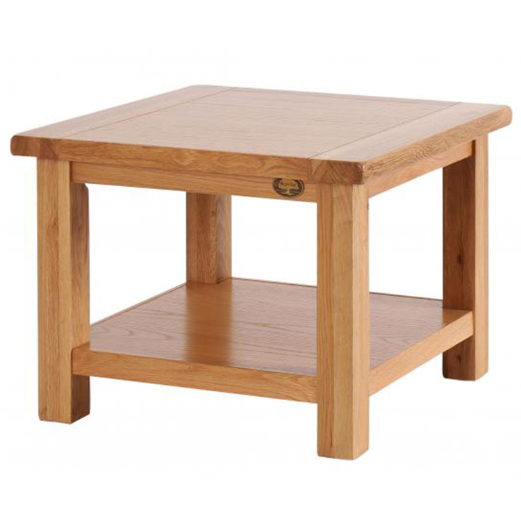 Vancouver Select Oak Furniture Small Square Coffee Table With