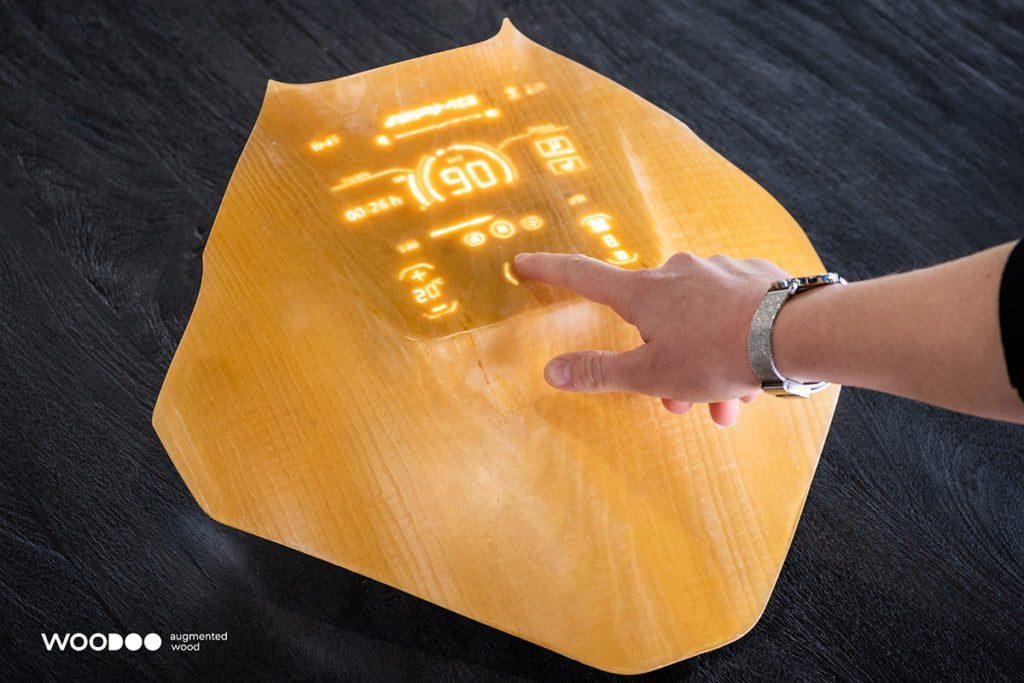 Transparent and augmented wood, material of the future