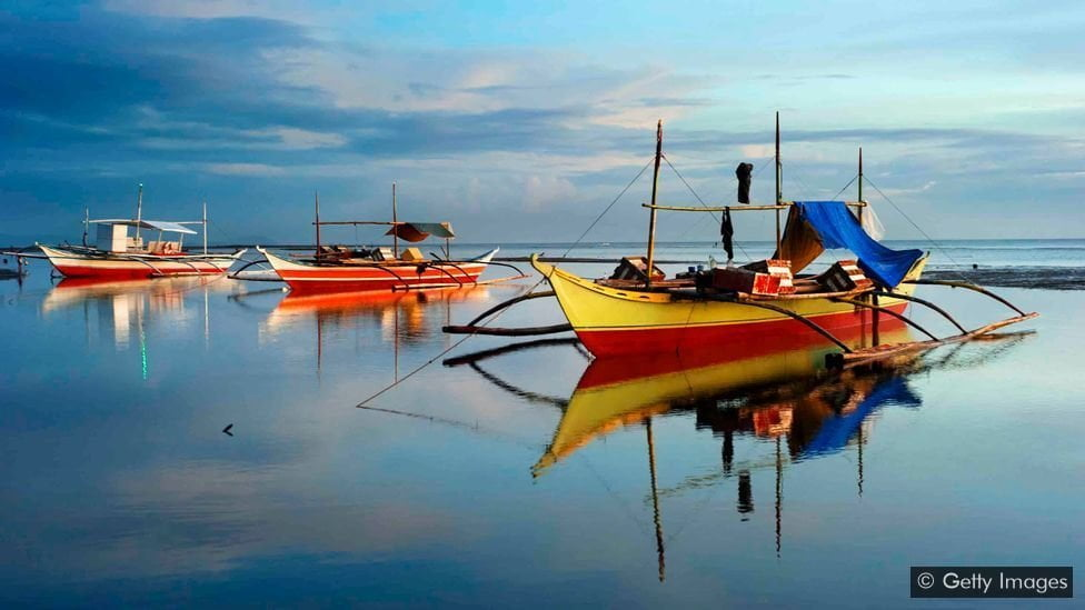 bangka, ship driven by energy from the waves