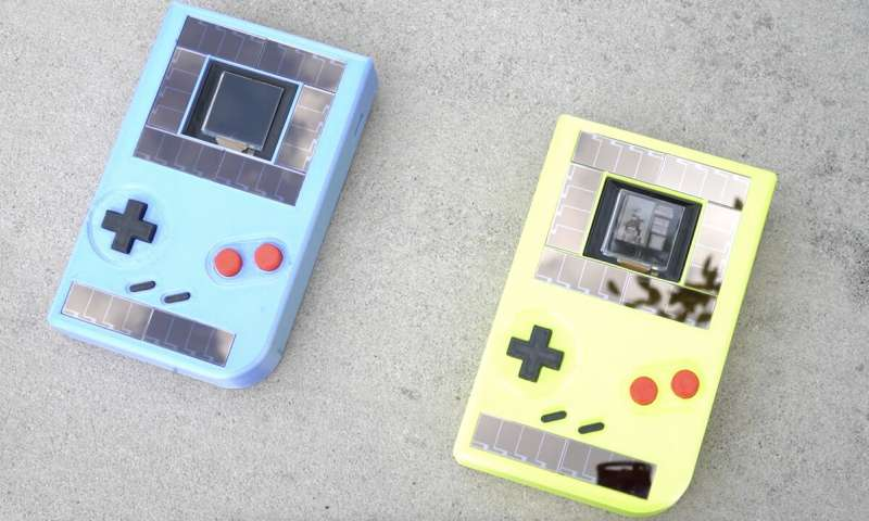 Sustainable video game, Game Boy without battery