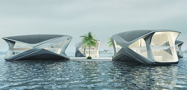 Ocean Community Project, floating communities against sea level rise