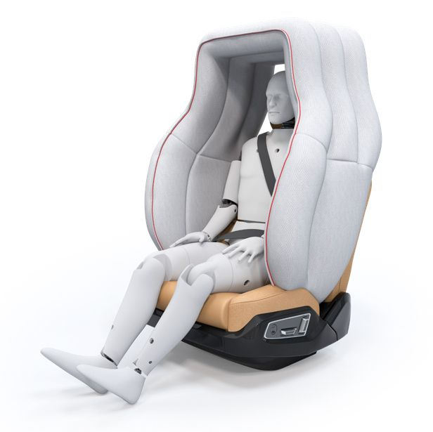 Life Cell will replace the airbags in the passenger compartment of self-driving vehicles