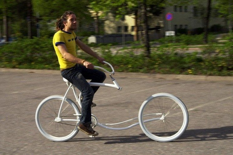 bike of the future, forkless