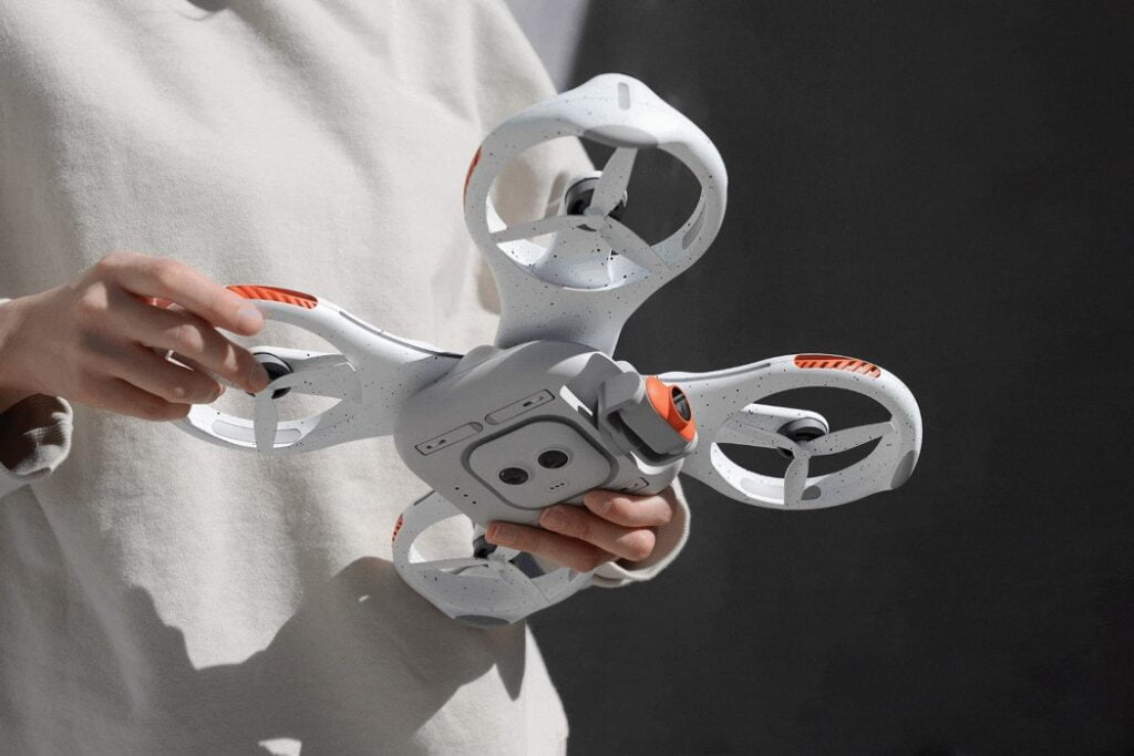 Traverse drone personal trainer