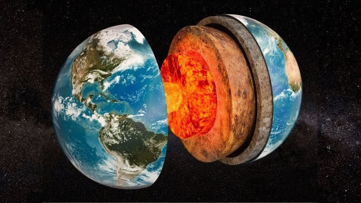 Core of the earth