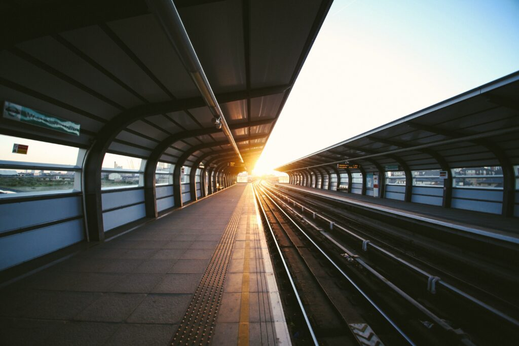 Travel by train instead of short-haul air travel