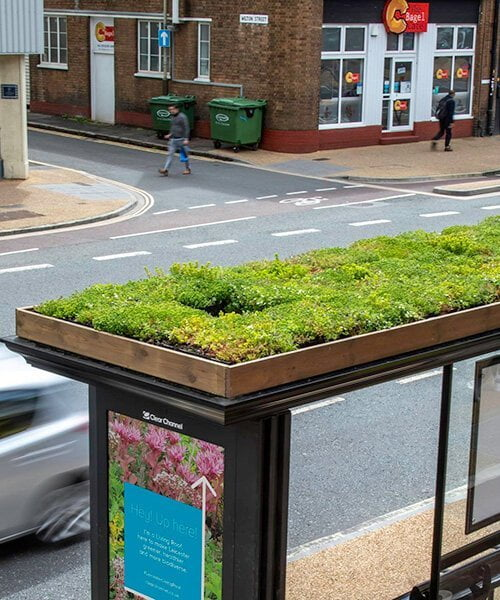 Bus stop for bees