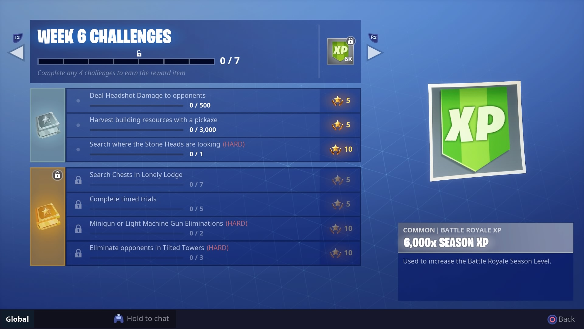 Where Are The Time Trials Located In Fortnite Season 5 Fortnite Season 5 Week 6 Challenges Guide Stone Heads Timed Trials