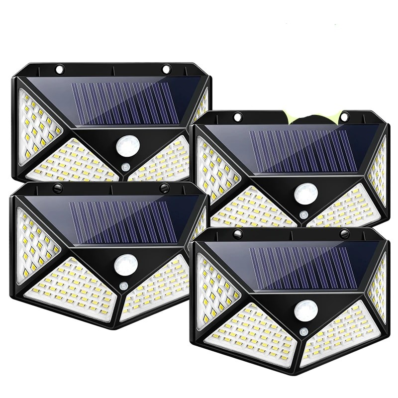Goodland waterproof Outdoor Solar Light with 100 LED Powered by Sunlight for Street and Garden Decoration