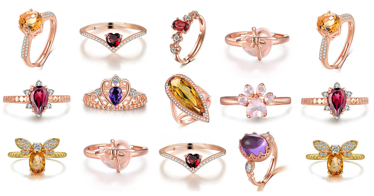 Wide Ring Collection