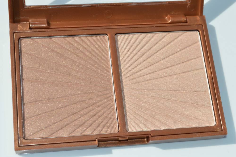 W7 Hollywood Bronze and Glow Review and Swatches - Charlotte Tilbury Bronze and Glow Dupe