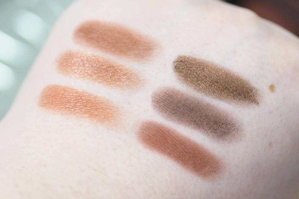 W7 Blazin' Neutrals On Fire Eyeshadow Palette Review and Swatches - Urban Decay Naked Heat Dupe