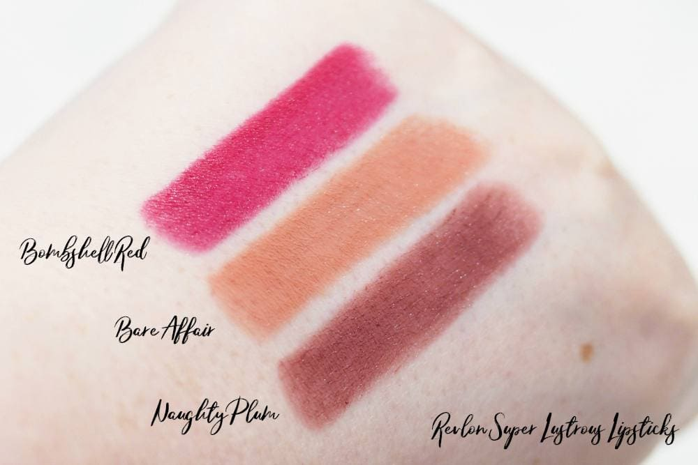 Revlon Lip Wardrobe ft. Lipliners, HD Gel Lip Colors, Super Lustrous Lipsticks and Ultra HD Matte Liquid Lipsticks Review and Swatches