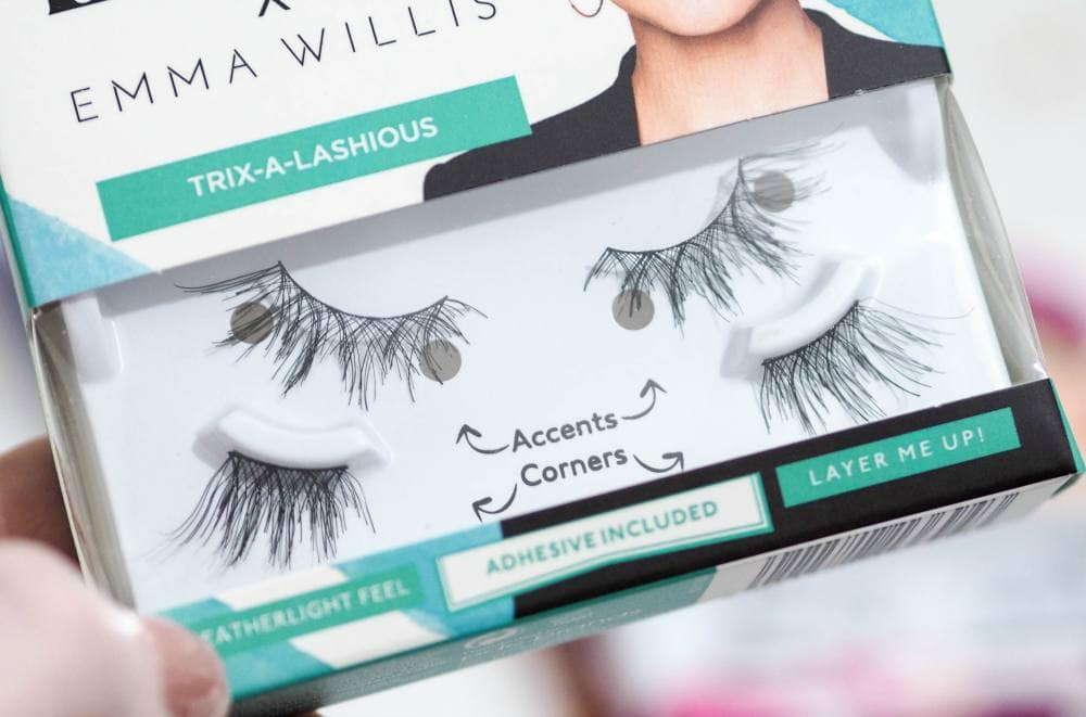 Eylure x Emma Willis False Eyelashes Collection Review - All The Aces, Trix-a-Lashious and Insta-Belle