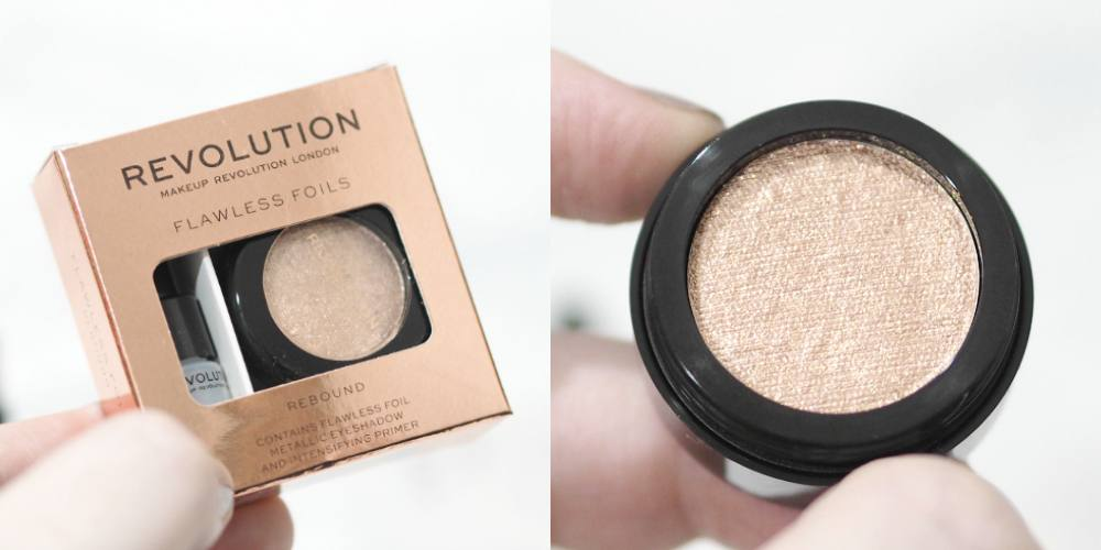Makeup Revolution Flawless Foils Eyeshadows Review and Swatches - Retreat, Overcome, Rebound and Rival