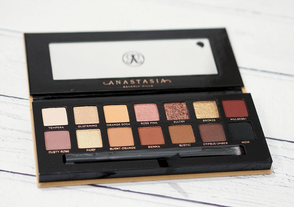 Anastasia Beverly Hills Soft Glam Eyeshadow Palette Review and Swatches