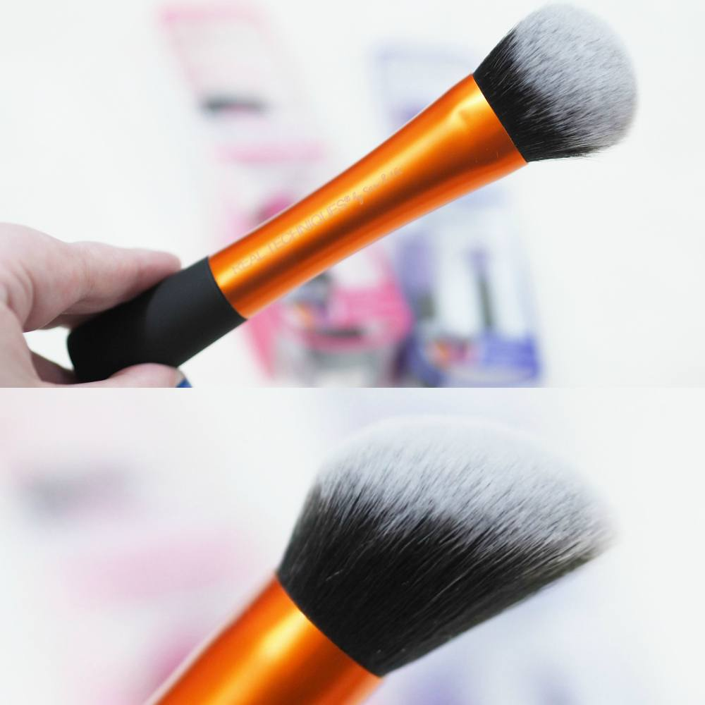 Real Techniques InstaPop Makeup Brush Collection Review - InstaPop Face Brush, Cheek Brush and Eye Duo