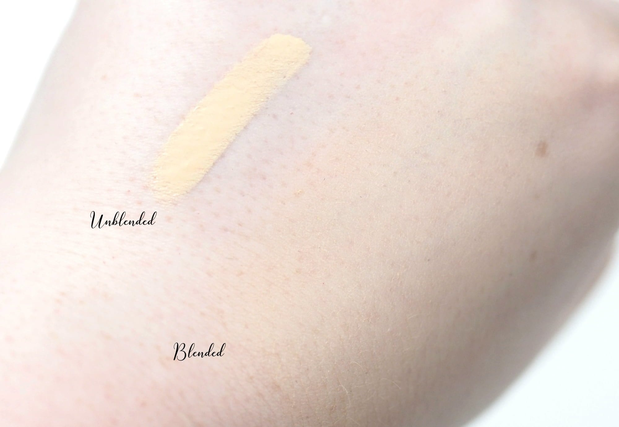 Too Faced Peach Perfect Comfort Matte Foundation Review Swatches