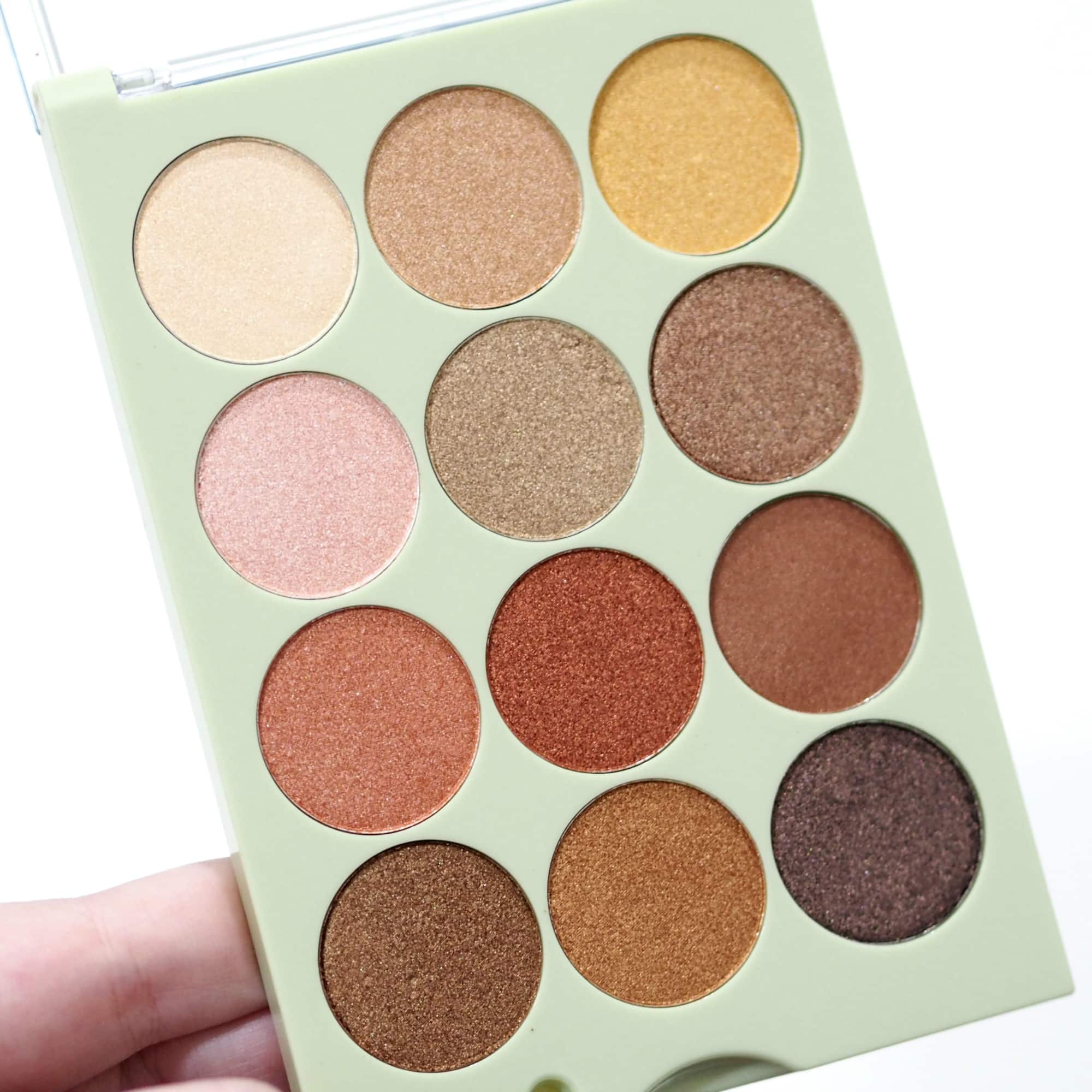 Review and Swatches of the Pixi Eye Reflections Shadow Palettes with the Natural Beauty Palette and the Reflex Light Palette.