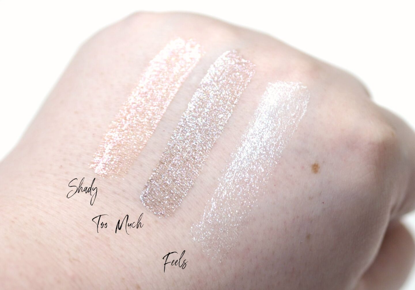 Lottie London Eye Foils - New Shades! Review and Swatches ft Feels Shady Too Much