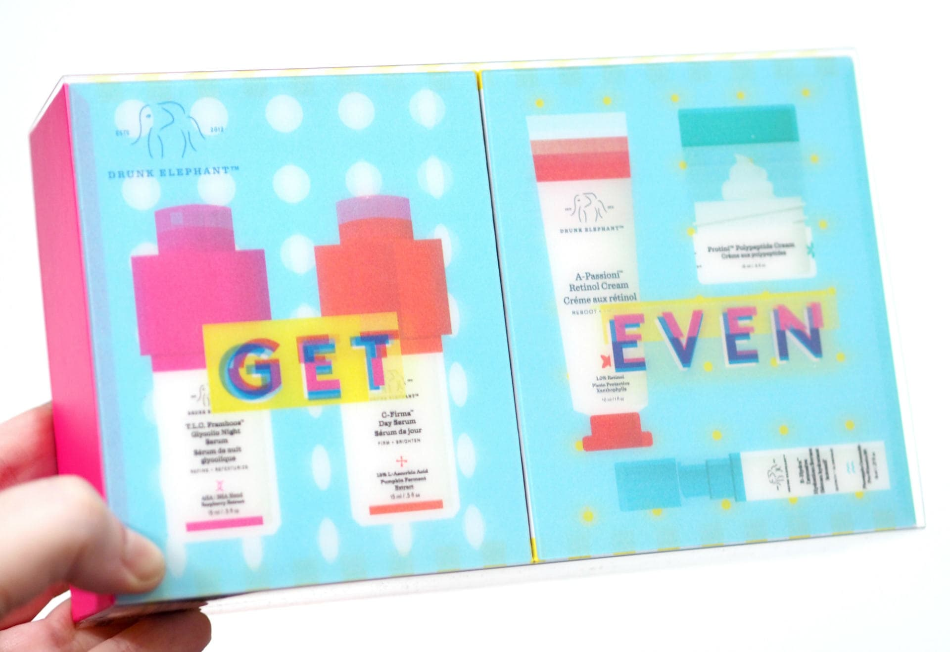 Drunk Elephant Get Even Gift Set