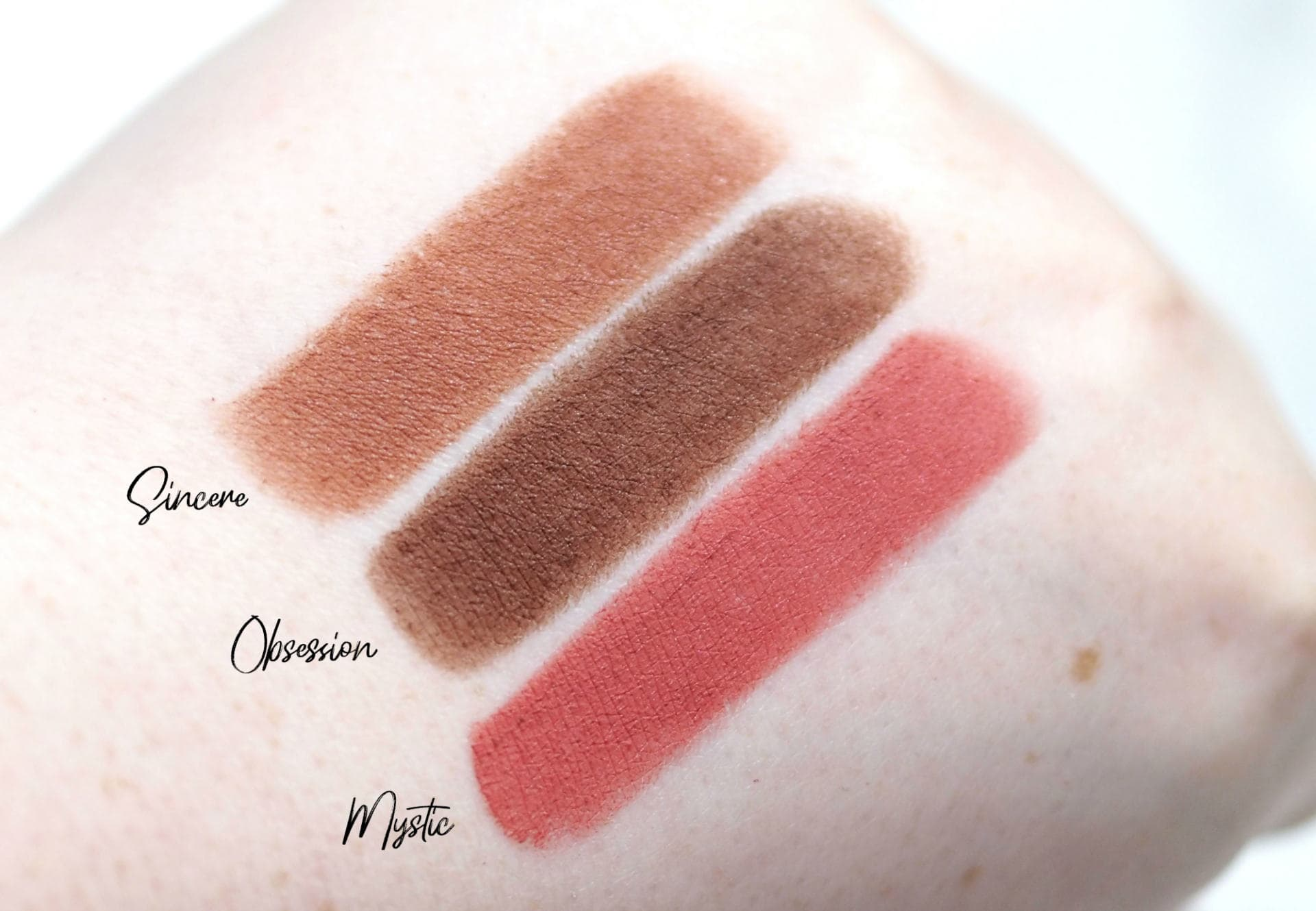MUA Lip Collection Velvet Matte, Matte, Satin and Velvet Lipsticks Review and Swatches