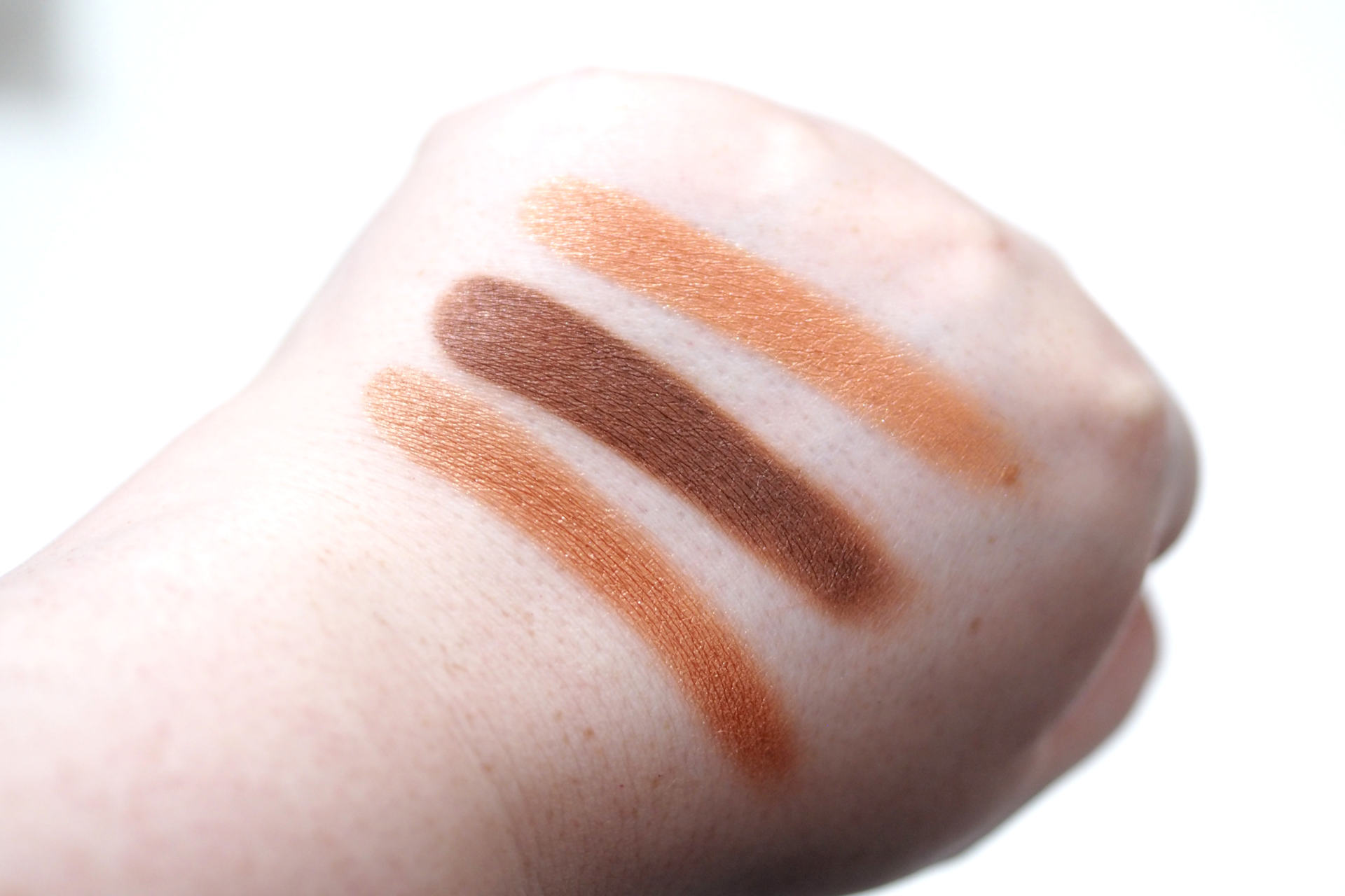 MUA Essential Eyeshadow Collection Review and Swatches