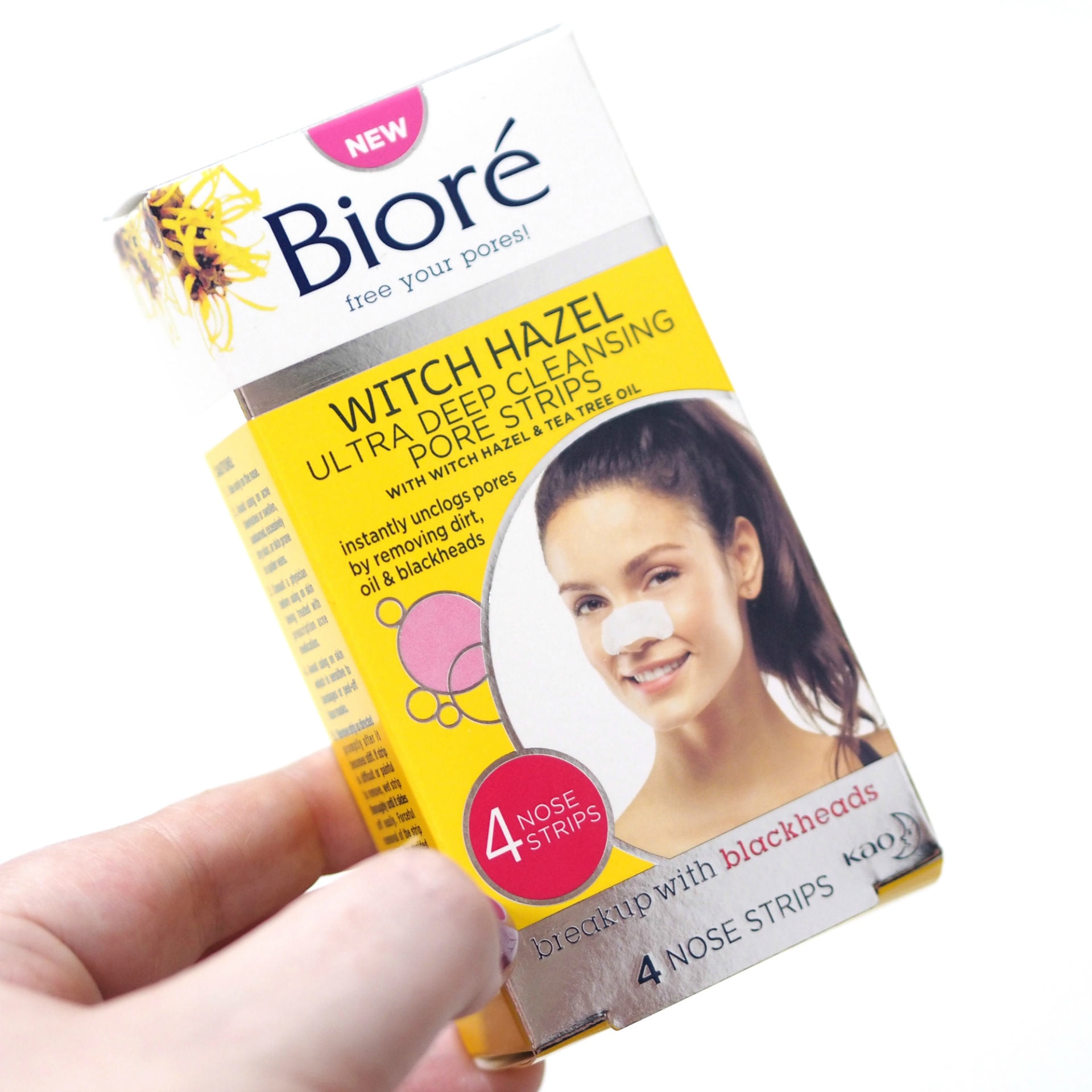 Christmas Stocking Filler Gift Guide 2019 Bioré Witch Hazel Collection - Pore Clarifying Cooling Cleanser & Pore Strips