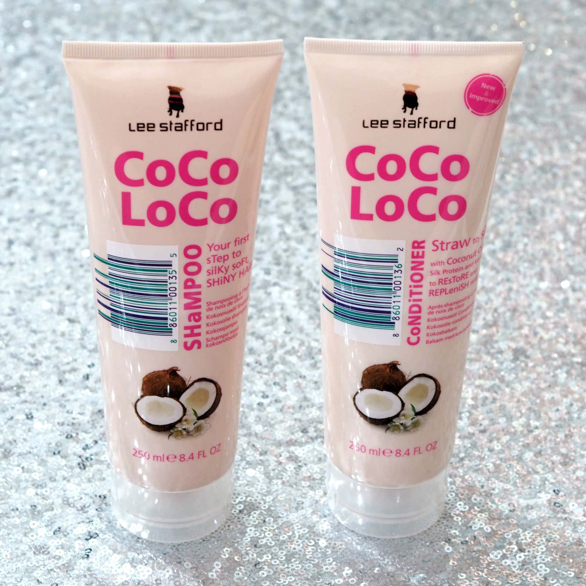 Lee Stafford Christmas Gift Sets - Hair Goals on the Go & You Drive Me Coconuts