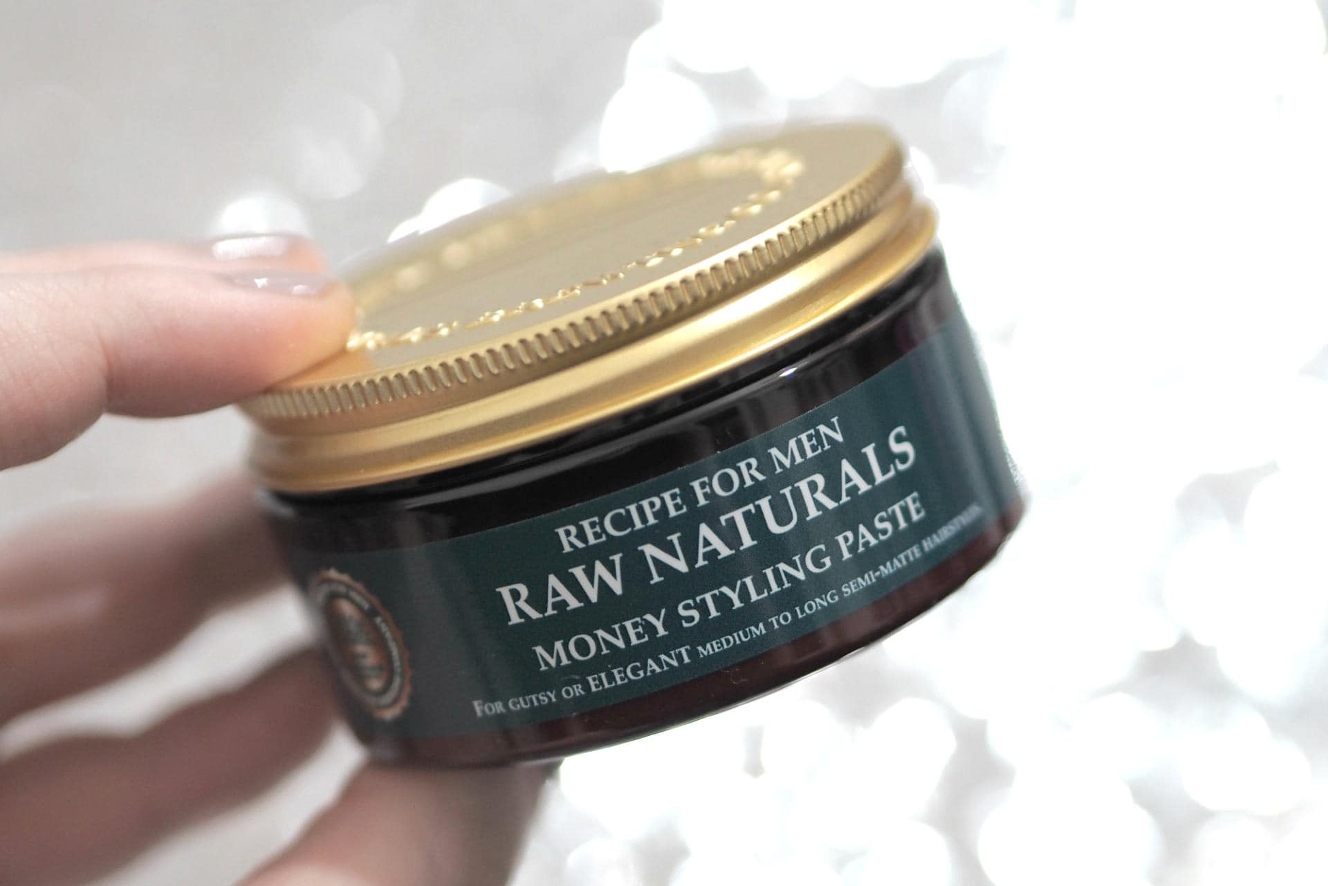 Recipe for Men Raw Natural - Under £10 Stocking Fillers