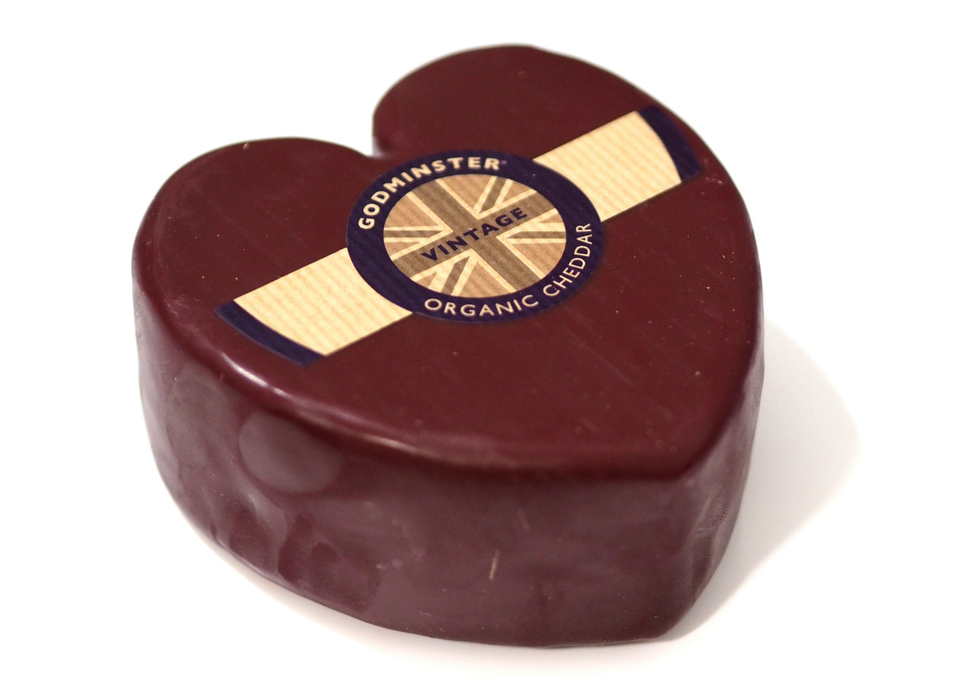 Godminster Heart Shaped Vintage Organic Cheddar