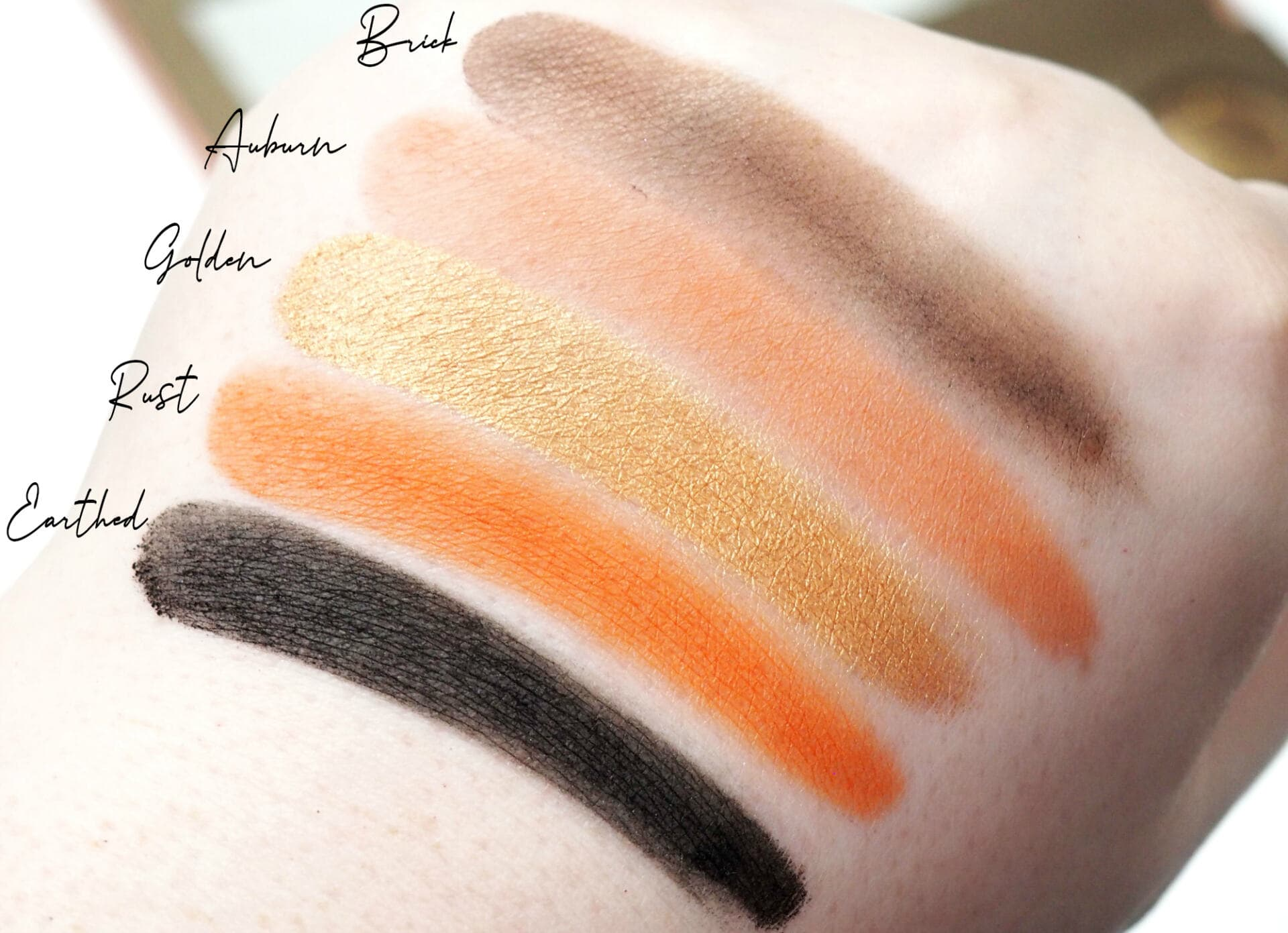 Revolution Pro Colour Focus Bronzed Glow Eyeshadow Palette Review and Swatches