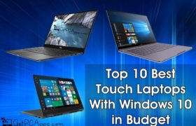 Top 10 Best Windows 10 Touch Screen Laptops in 2019