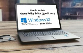 Top 3 Best Ways to Enable Group Policy Editor GPEDIT.MSC in Windows 10