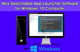 Wox Searchable App Launcher Software for [Windows 10, 8, 7 PC]