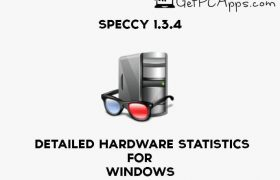 Download Speccy 1.3.4 Detailed Hardware Statistics for Windows [10, 8, 7]