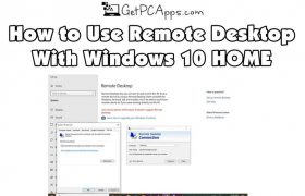 How to Use Remote Desktop (RDP) in Windows 10 Home?
