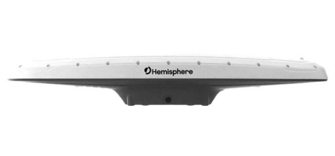 Hemisphere GNSS Announces New Atlas®- and RTK-Capable Vector™ V500 GNSS Compass Smart Antenna
