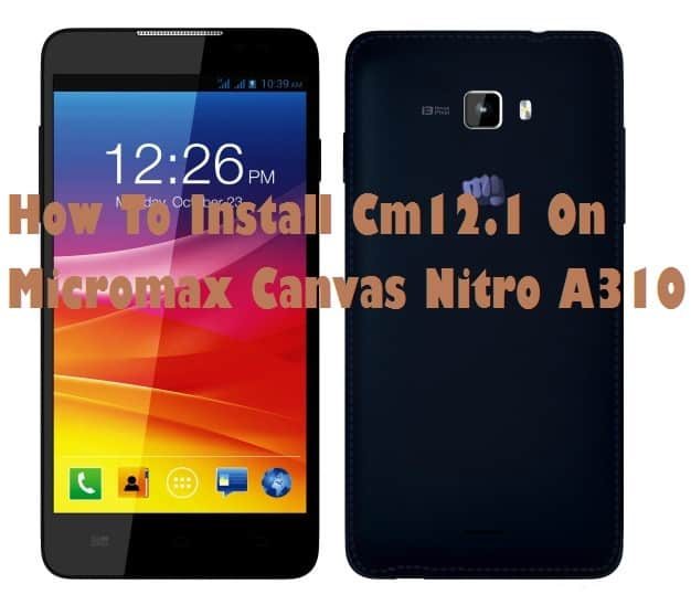Lollipop On Micromax Canvas Nitro
