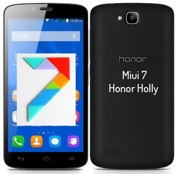 Miui 7.1 For Honor Holly