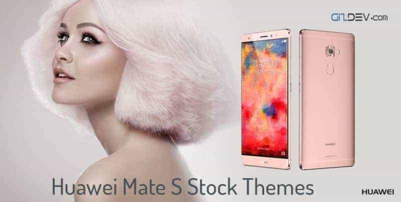 Huawei Mate S Stock Themes