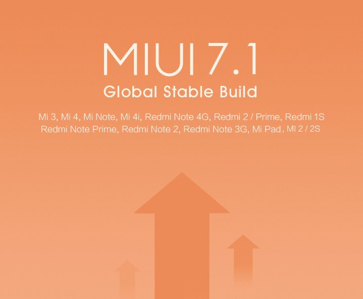 Official Miui 7.1 Android M Roms For Xiaomi