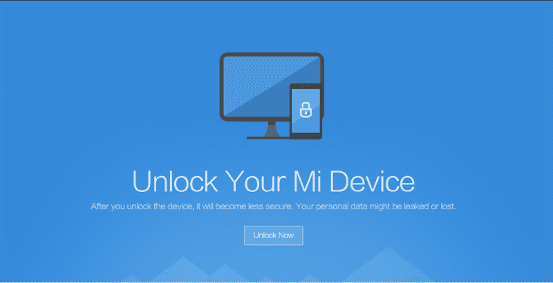 Unlock Bootloader Of Xiaomi Mi & Redmi Devices