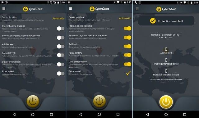 CyberGhost-vpn-android