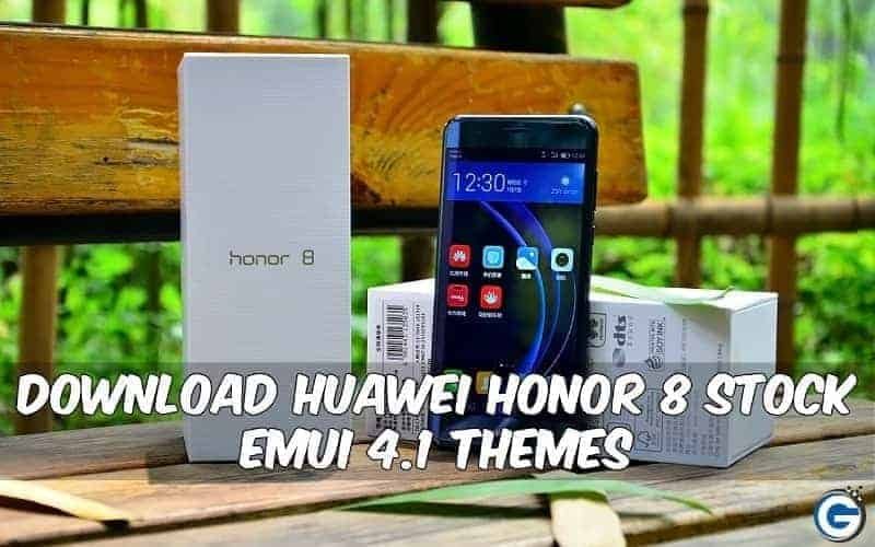 Honor 8 Stock Themes